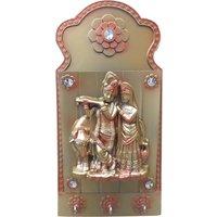 Lord Radha + Kishan Letter + Key Holder