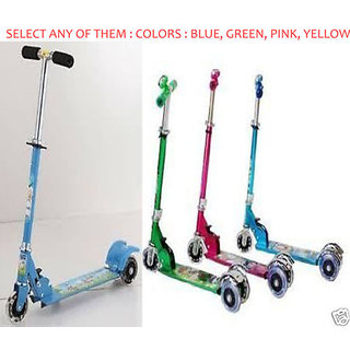 Kids Foldable 3 wheel Scooter Tricycle For Children Birthday