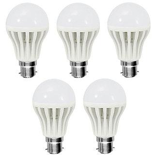 dillihart 12 Watt Led Bulbs Combo Of 5Pcs