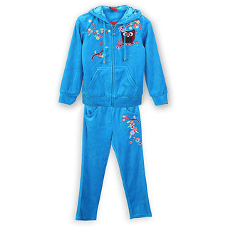 Lilliput Embroidered Hooded Track Suit (8907264016582)