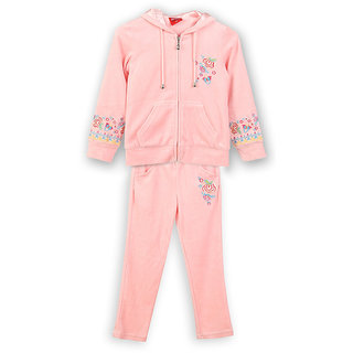 Lilliput Embroidered Hooded Track Suit (8907264016681)