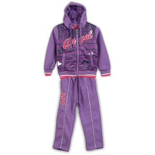 Lilliput Printed Hooded Track Suit (8907264022811)