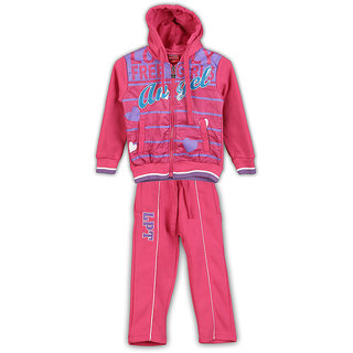 Lilliput Printed Hooded Track Suit (8907264022866)