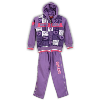 Lilliput Printed Hooded Track Suit (8907264022996)