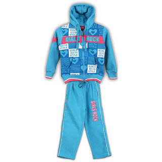 Lilliput Printed Hooded Track Suit (8907264023092)