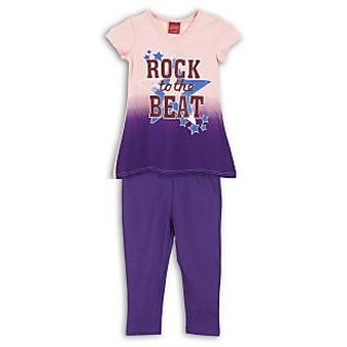 Lilliput Printed Rock N Beat 2Pcs Set (8907264063074)
