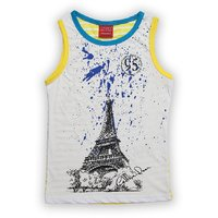 Lilliput Cotton Printed Eiffel Tower T-Shit (8907264059022)