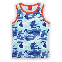 Lilliput Cotton Printed Splash Camo T-Shirt (8907264059350)