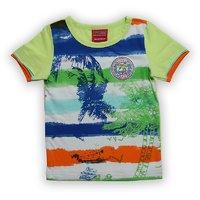 Lilliput Cotton Printed Surf Feeling T-Shirt (8907264060738)