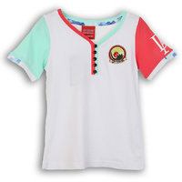 Lilliput Cotton Solid Paradise T-Shirt (8907264061483)