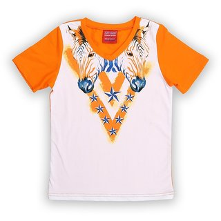 Lilliput Cotton Printed African Safari T-Shirt (8907264058322)