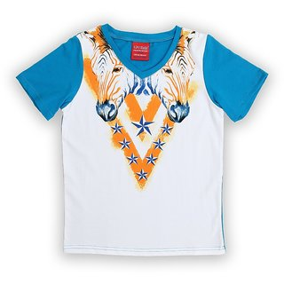 Lilliput Cotton Printed African Safari T-Shirt (8907264058353)
