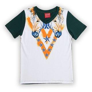 Lilliput Cotton Printed African Safari T-Shirt (8907264058445)
