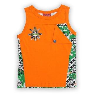 Lilliput Cotton Printed Surfer Wave T-Shirt (8907264061551)