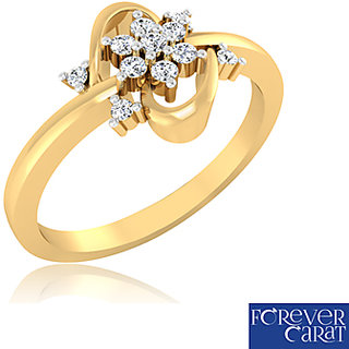 Forever Carat Diamond Ring In 14k Gold Design - 13