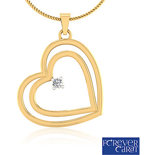 Forever Carat Diamond Pendant In 14k Gold Design - 23