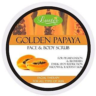 Luster Golden Papaya Face Body Scrub - 400 g