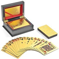 24kt Gold Plated Playing Cards with box