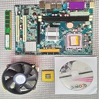 G41 MOTHERBOARD INTEL CHIPSET + 4GB DDR3 RAM +CORE 2 DUO 3.0 GHz PROCESSOR COMBO