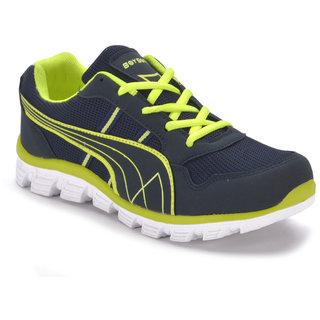 boysons green running sports shoes