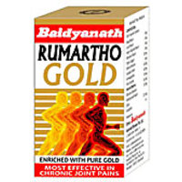 Baidyanath Rhumartho Gold Capsules 30 Capsules - Gives Relief From Joint Pain - 2082484