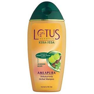 Lotus Herbals Kera Veda Amlapura Shikakai Amla Herbal Shampoo