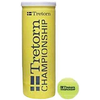 Cosco Tretorn Championship Tennis Ball (Pack of 3 Balls) At Lowest price.
