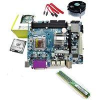 intel C2D 2.0ghz +KUK G-31 Motherboard SERIES +ddr2 Ram 1GB +Fan 1year warranty