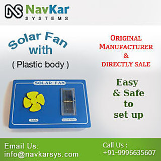 Solar Fan (Plastic)  Solar Powered Fan  Solar Educational Kits