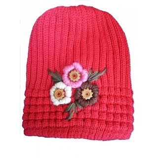 Hot 100 woolen cap for women buy 1 get 1