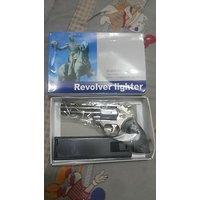 Gun Lighter With Holder Cigarette Lighter Unique Rare