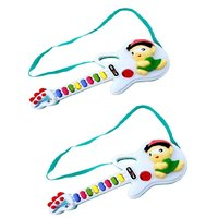 Musical Guitar Gift Toy For Kids With Two Modes (Pack of 2)