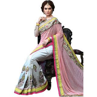 Da Facioun Wedding PartyWear Bollywood Designer Ethnic  Saree   Embroidery 3376