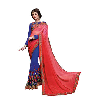 Da Facioun Designer Ethnic  Saree   Wedding PartyWear Embroidery Bollywood 3376