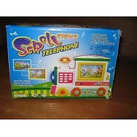 Battery Operated Scroll Telephone Tor For Kids