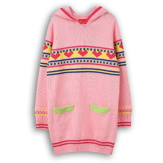 Hooded Full Sleeve Sweater (8907264015455)