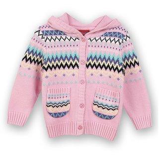 Woolen Hooded Cardigan (8907264022149)