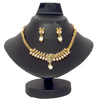 AMAZING! Gold Plated Designer Jewellery necklace with earrings