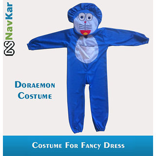 Doraemon Fancy Costume Outfit Suit Fancy Dress For Kids Medium Size 7 - 9 Years
