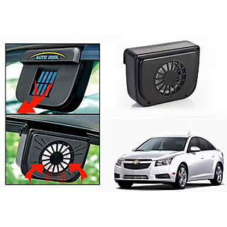 Auto Cool Car Solar Powered Side Window Cooling Fan-Chevrolet Cruze