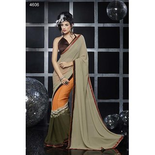 Shaily Georgette Printed Saree