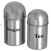 Stainless Steel Canister Set Of 2