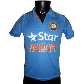Sahara India Jersey Cricket India Jersey T Shirt