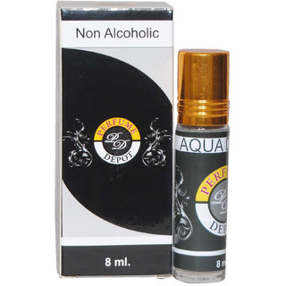 AQUA D G10 8ml. Non alcoholic Attar- Essential oil