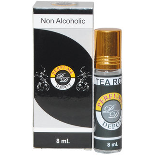 TEA ROSE  8ml. Non alcoholic Attar- Essential oil