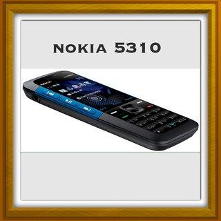 New Full Housing Body Panel For Nokia  5310- Black Blue.