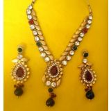 Exclusive Designer 1 Gram Gold Plated Necklace Set