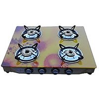 Gas Stove 4 Burner Glass Cook Top Gas Stove
