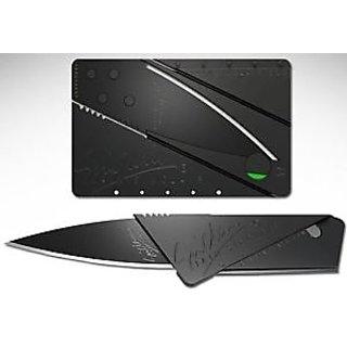 original sinclair Portable Camping Credit Card Safety Wallet Folding Knife Blade