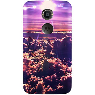 StyleO Mobile Cover for Moto X2 2nd Gen  Cloud available at ShopClues for Rs.399